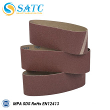 Wholesale aluminum oxide cloth backing abrasive sanding belt