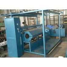 Rolo de aquecimento que cinzela a máquina para a máquina curta da matéria têxtil da tela da pilha (CLJ)