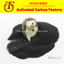 Corindón negro de alta dureza / alúmina fundida para acero inoxidable