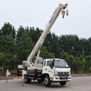 China Manufacturers for China Mobile Crane,Crawler Crane,Hydraulic Mobile Crane Supplier EURO IV 10 Ton Telescopic Boom Truck Crane export to Dominica Manufacturers