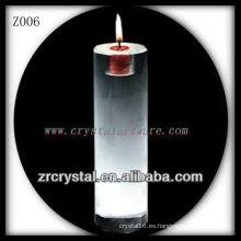 Candelero cristalino popular Z006