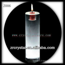 Bougeoir en cristal populaire Z006