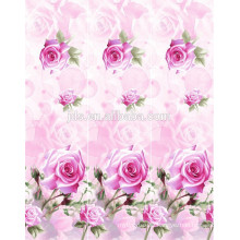 2015 new style 3D disperse printing fabric,flat screen printing