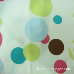 100% polyester peach skin fabric with printing, 20D+26Dx75DM, 168x94, 92gsm, 57-/58-inch width