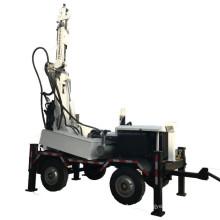Máquina de perfuração de poço de água montada em reboque