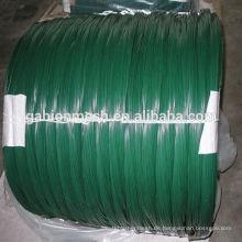 PVC beschichtete Eisen Draht & pvc beschichtet Krawatte Draht & pvc beschichtet Gi Draht (Fabrik Preis)