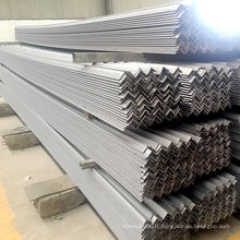 Q235 Barre d'angle en acier galvanisé en stock