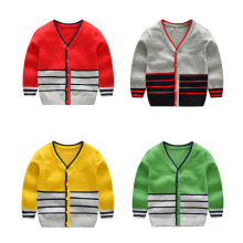 Latest Cheap Boutique New Children Sweater V-Neck Boys Kids Cardigan Sweater/Sweaters