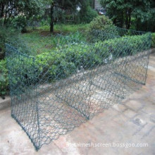 Green Color PVC Caoted Gabion Basket