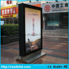 Outdoor Free Standing Scrolling LED Billboard Light Box