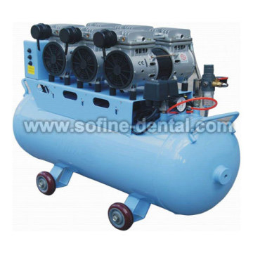 Oil Free Dental Air Compressor With CE