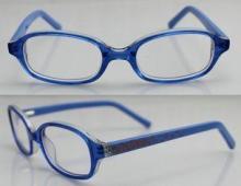 Fashion Acetate Optical Kids Eyeglasses Frames with Blue ,