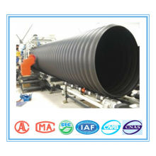 Steel reinforced pipe HDPE double-wall corrugated pipe