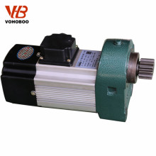 RQQ series high torque low rpm electric ac motor for crane travelling