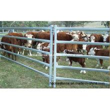 Barras ovalas galvanizadas a quente e quente Painel de gado bovino