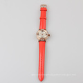 stainless steel quartz watch lady fashion