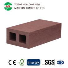 Perfil compuesto de plástico de madera para valla exterior (HLM88)