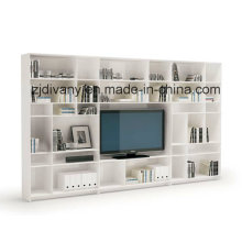 Divany Modern White Solid Wood Combination Cabinet (SM-TV06B)