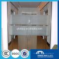 4мм краю польский закаленное стекло для душевых дверей с sgcc и CCC