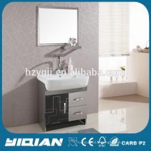 Miroir miroir meuble de salle de bain en acier inoxydable