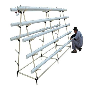 A Type Tower Hydroponics System For Greenhouse Agriculture