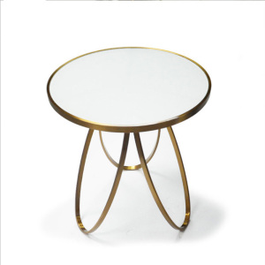Unique Design Round stainless steel coffee table