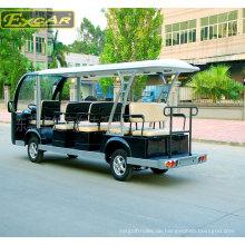 Ce genehmigt 14 Sitzer batteriebetriebener Sightseeing Bus