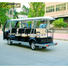 Ce Approved 14 Seaters Battery Operated Sightseeing Bus