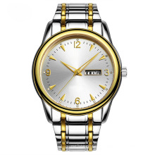 Новый продукт из нержавеющей стали часы для мужчин, автоматические и Кварцевые (Джа 180)