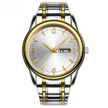 Relógio de aço inoxidável de produto novo para homem, automático e quartzo (Ja 180)