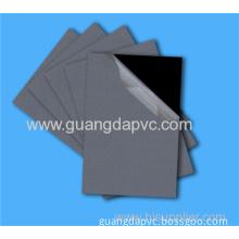 0.6mm Self-adhesive Black Pvc Inner Sheet For Album Photo