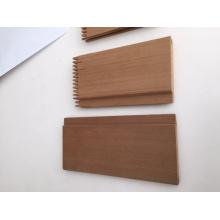 Panel de revestimiento de cedro rojo occidental impermeable