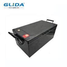 Bateria recarregável de sistema PV de armazenamento de energia 12V 250Ah