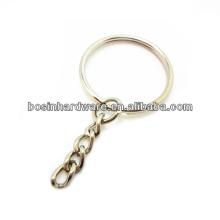 Fashion High Quality Metal Split Ring Key Ring Chain