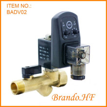 Aire compresor válvula de drenaje de agua automática con temporizador