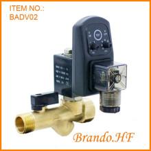 Válvula de drenagem de água automática de Compressor de ar com Timer
