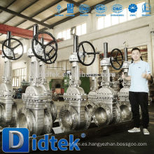 Válvula de compuerta Didtek Oxygen api 600