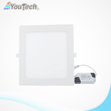 luz de panel led blanco cálido 18W