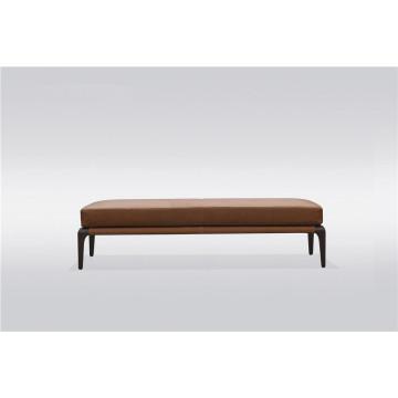 Tabouret de lit en bois massif