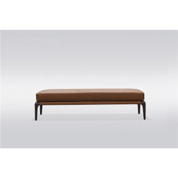 Solid wood bed stool