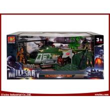 Lernspielzeug DIY Militärspielzeug Sets mit Hubschrauber