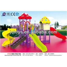 JS07502 Hotsale Kids Outdoor Plastic Playground Equipamentos