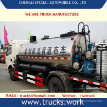 6000liters plein de route direction asphalte bitume pulvérisateur camion