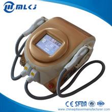 Máquina de eliminación de vello de CA System E-Light IPL Shr Remoción de vello permanente rápida