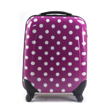 Luggage Trolly Purple Suitcase Travel Bag (HX-W3634)