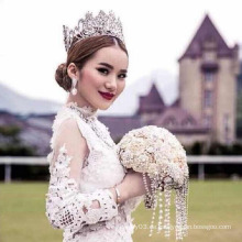 Fabrik akzeptieren Custome Crown Tiara Europa Best Selling Großhandel Tiaras