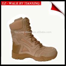 Military boots with Metal Free Light Weight Desert Suede
