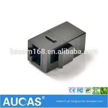 AMP RJ45 blindado Adaptador do acoplador inline / conector do conector modular PCB