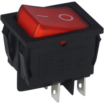 Rocker Switch Rouge fourni par Ningbo Factory