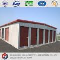 Structure de bâtiment de stockage en acier léger
